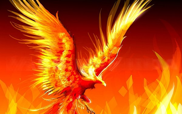 tượng chim phượng hoàng 4