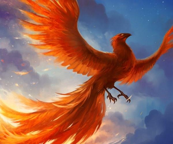 tượng chim phượng hoàng 8