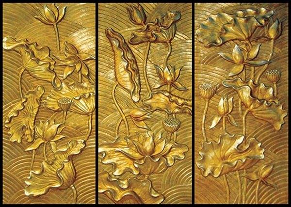 tranh gỗ